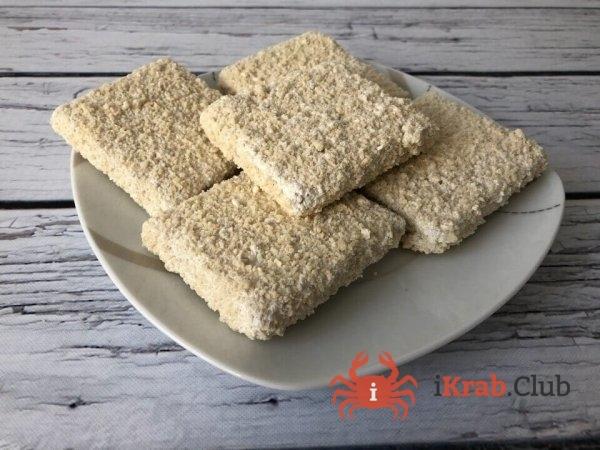 Филе минтая порции 100-140 гр в панировке