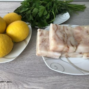 Филе трески без кожи и костей, порции 80-120 гр.