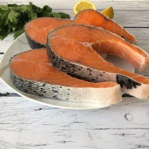 Стейки лосося атлантического (Сёмги) Premium