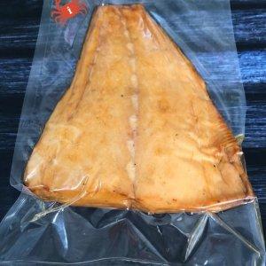 Масляная рыба холодного копчения, филе